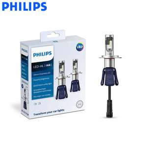 Kit LED pour voiture Philips Ultinon Essential H4 (11342UEX2)