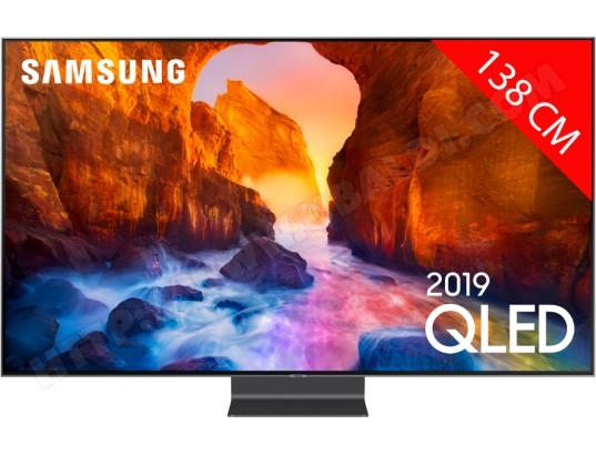 "TV QLED 55"" Samsung QE55Q90R - 4K, HDR, Dalle 100 Hz, Smart TV"