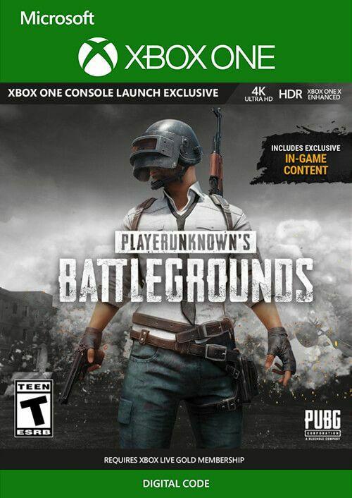 PlayerUnknown's Battlegrounds (PUBG) sur Xbox One (Dématérialisé)