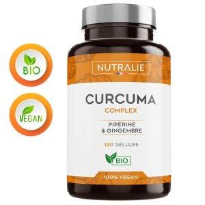 Lot de 120 gélules de Curcuma BIO NUTRALIE Curcuma Complex (Vendeur Tiers)