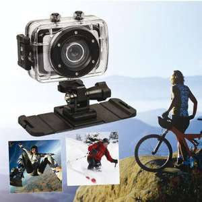 Caméra sportive HD (1280 x 720 / 30 fps) + carte mémoire 4 Go