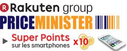 Super Points x10 sur les téléphones mobiles