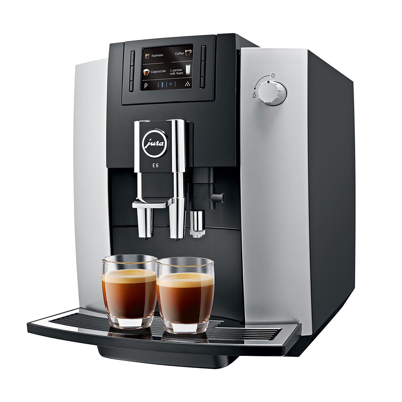 Machine à café Jura 15079 E6 Platinum (Frais de port inclus)