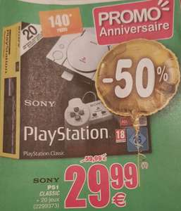 Console Sony PS1 Classic (Frontaliers Belgique)