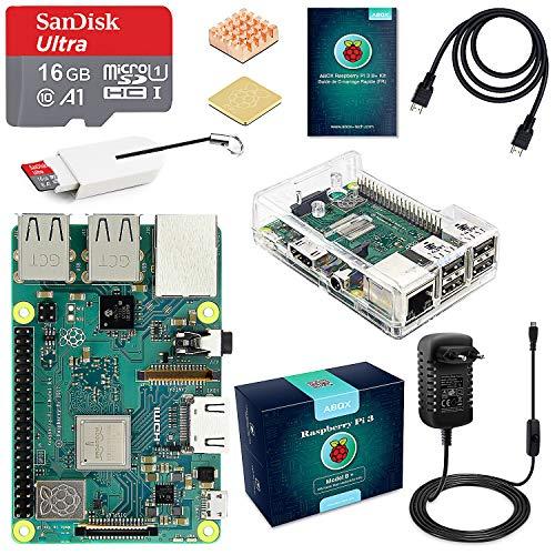 Kit Starter  Raspberry Pi 3 B+ Abox (vendeur tiers)