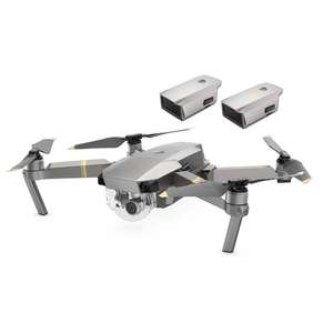 Bundle Drone DJI Mavic Pro Platinum + 2 Batteries Intelligent Flight (Frontaliers Suisse)
