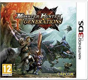 Monster Hunter Générations sur Nintendo 3DS