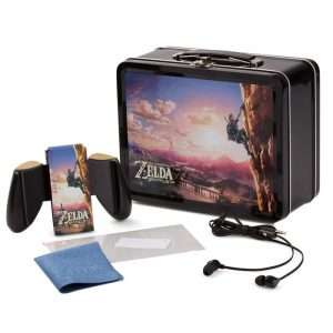 Kit lunch box PowerA The Legend of Zelda: Breath of the Wild - avec accessoires pour Switch