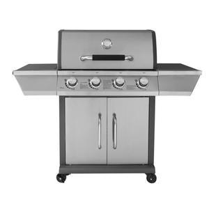 Barbecue à gaz 4 feux Duke - Grille + plancha