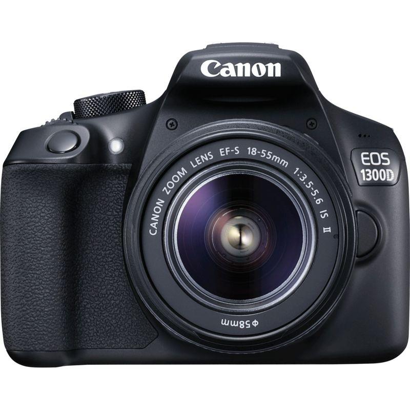 Appareil photo numérique Reflex Canon EOS 1300D + EF-S 18-55mm IS II