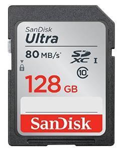 Carte Mémoire SDXC SanDisk Ultra Classe 10 FFP - 128 Go