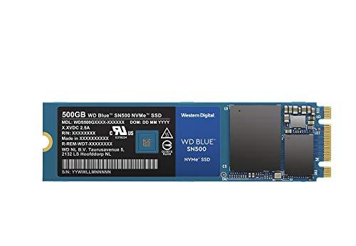 """SSD Interne M.2"""" Western Digital Blue SN500 -  interne  500 Go"""
