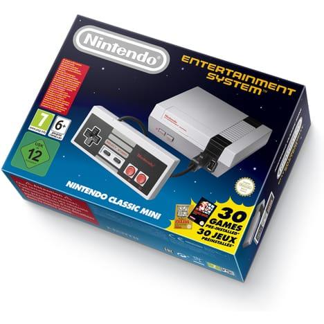 Console Nintendo Classic Mini + Manette NES offerte