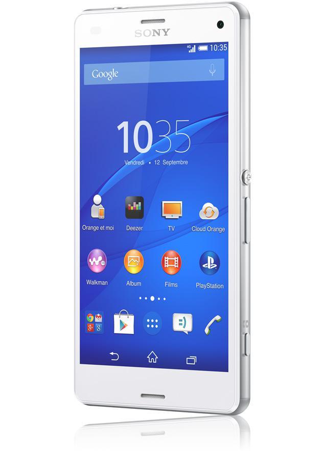 "Smartphone 4.6"" Sony Xperia Z3 compact - Blanc"