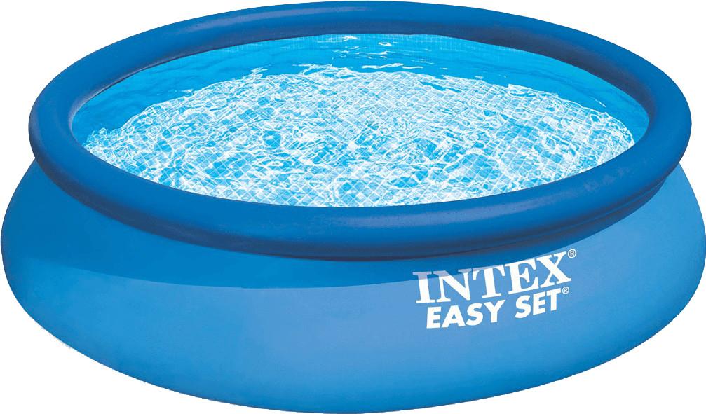 set de piscine autoport e intex easy set 396x84 cm avec. Black Bedroom Furniture Sets. Home Design Ideas