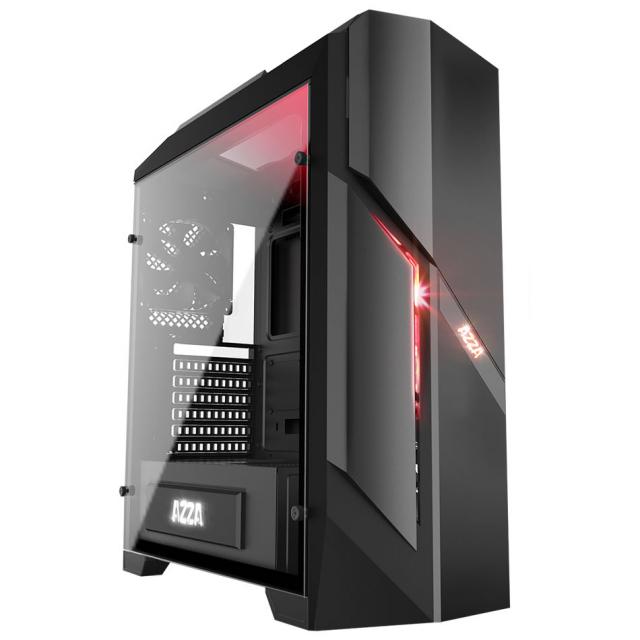 Tour PC Fixe - Ryzen 5 2600, RTX 2070, RAM 16Go, SSD 256Go, B450 PRO4 + 2 Jeux sur PC