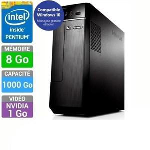 PC de Bureau Lenovo H30-00 - Pentium J2900 QC, 8Go  de Ram, 1To, Geforce 705 1Go