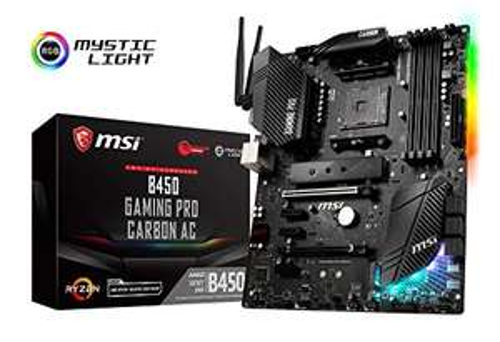 Carte Mère MSI B450 Gaming Pro Carbon AC - Socket AM4