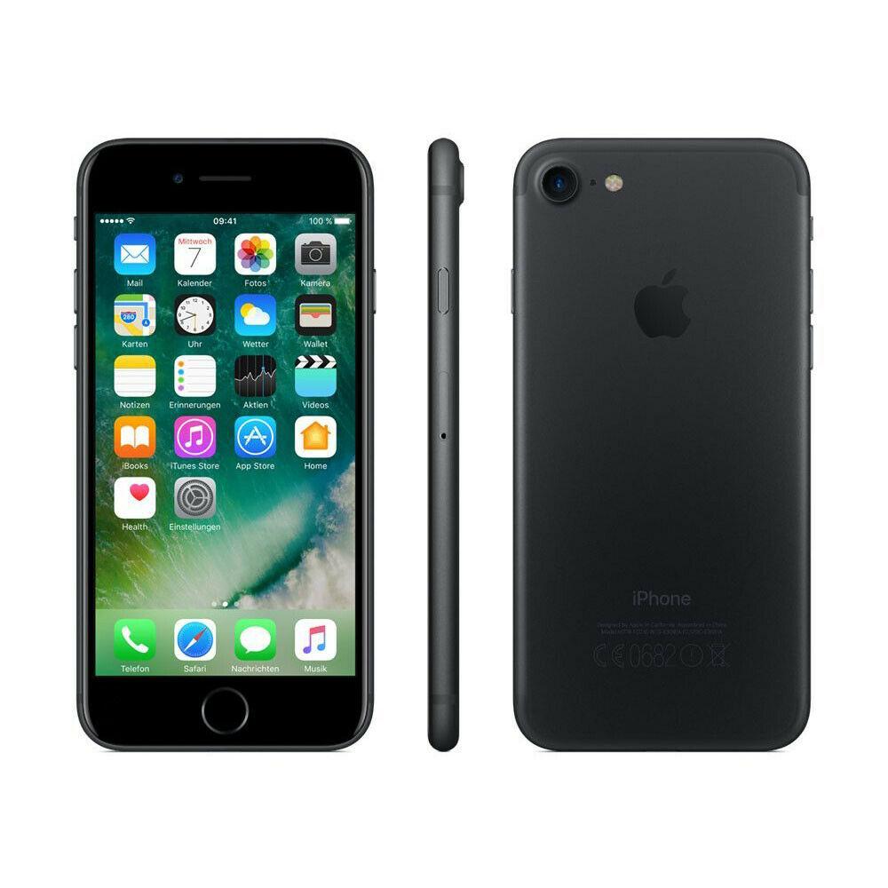 """Smartphone 4.7"""" Apple iPhone 7 - 32 Go (Noir - Reconditionné Acceptable)"""