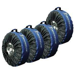 Lot de 4 Housses Pneus Michelin  (Taille universelle)