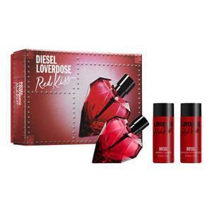 Coffret Eau de Parfum Diesel Loverdose Red Kiss + lait et gel douche parfumé