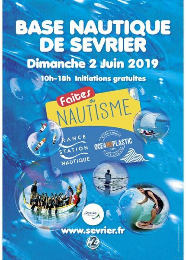 Initiations Gratuites à la Plongée, Ski Nautique, Voile - Sevrier (74)