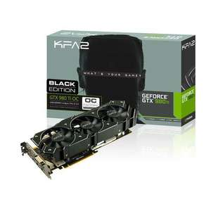 Carte Graphique KFA2 Nvidia GeForce GTX 980 Ti OC Black Edition 6 Go DDR5