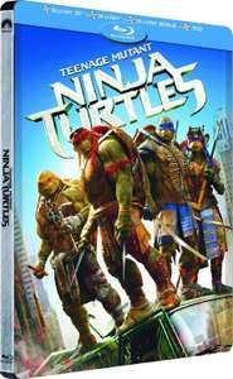 Sélection de Blu-ray et Blu-ray 3D en promo - Ex : Blu-ray 3D/Blu-Ray/Dvd  Ninja Turtles - Steelbook
