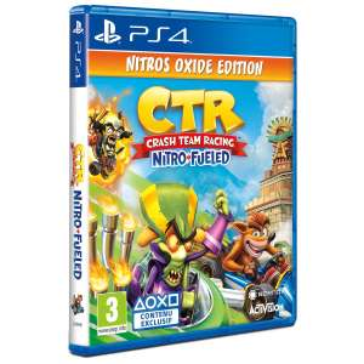 [Précommande] Jeu Crash Team Racing Nitro-Fueled - Edition Nitros Oxide sur PS4