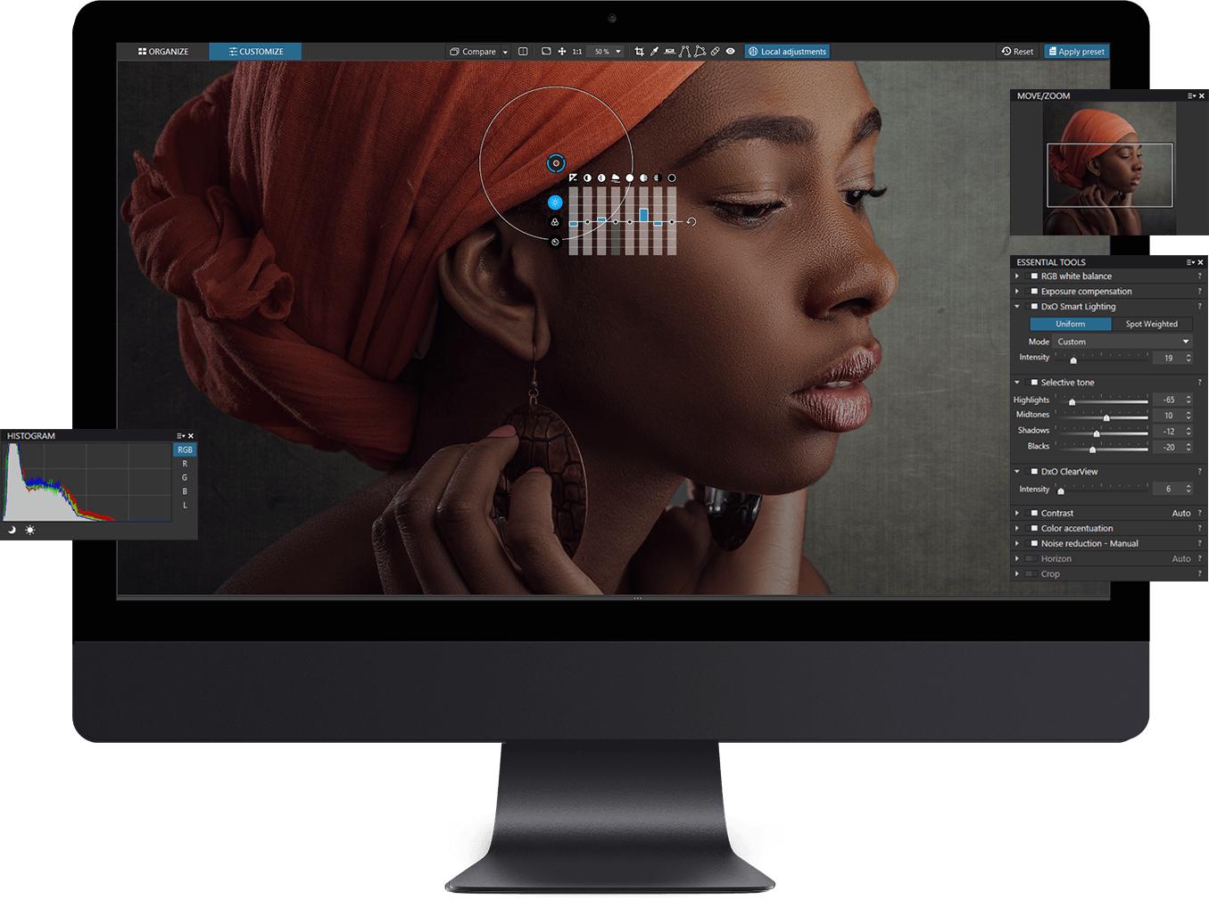 Logiciel photo DxO PhotoLab 2 Elite sur PC/MAC (Dématérialisé)