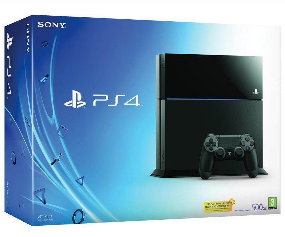 Console Sony PlayStation 4 - 500 Go - Noire (via 40€ fidélité)