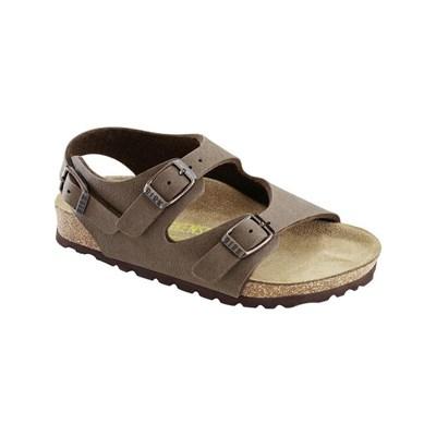 Sandales pour enfants Birkenstock Roma - en cuir, brun (du 24 au 34)