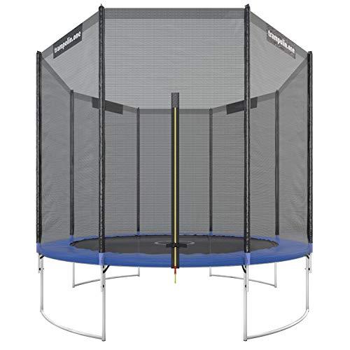 Trampoline de Jardin Ultrasport avec Tapis de Saut et Filet de Sécurité - 305cm