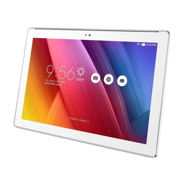 """Tablette 10"""" Asus ZenPad Z300C - 16 Go Blanc"""