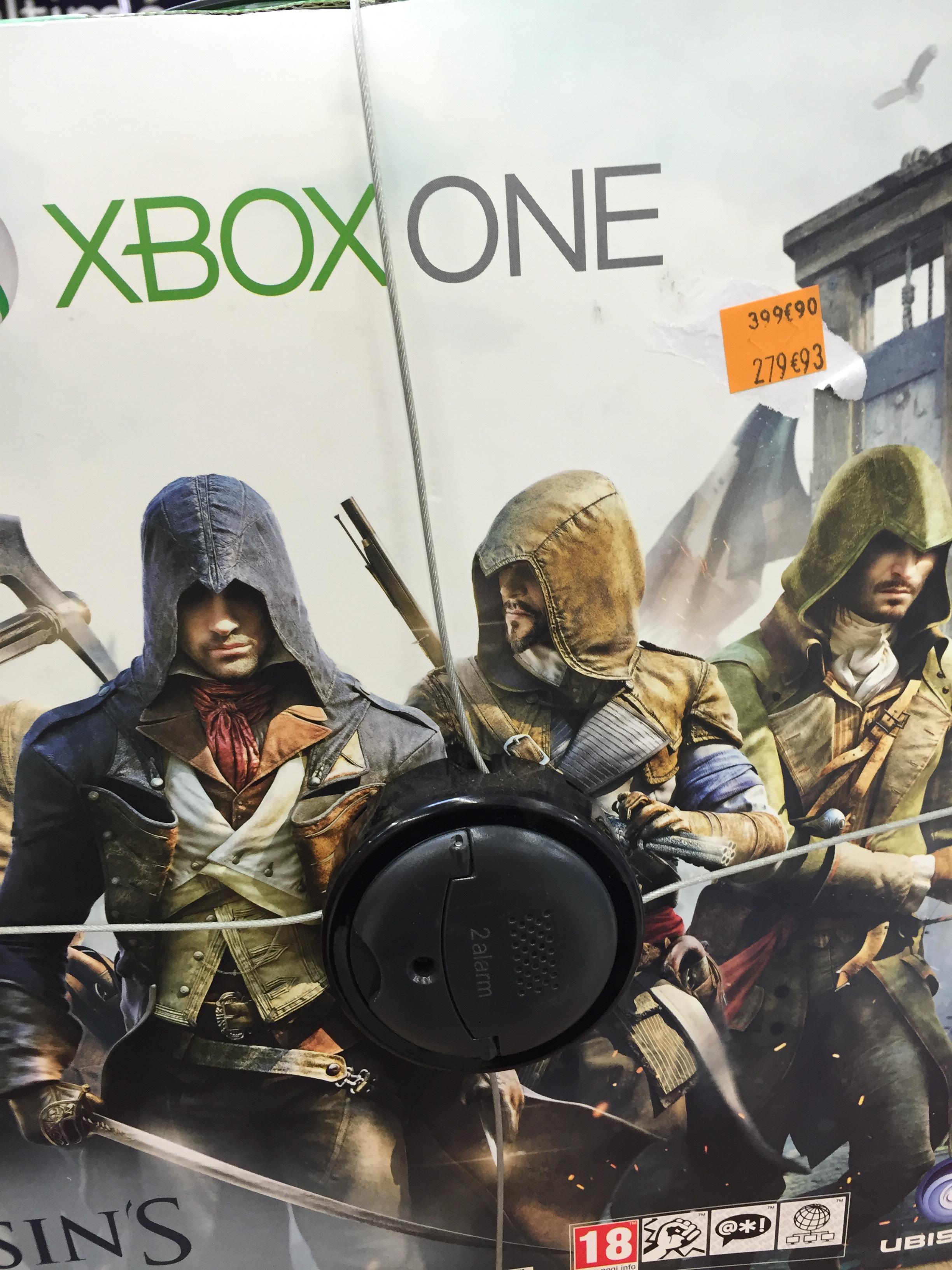 Console Xbox One 500 Go + Assassin's Creed Unity
