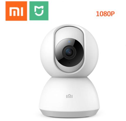 Caméra de surveillance sur IP Xiaomi Mijia - 1080P, 360°, Vision nocturne (Entrepôt France)