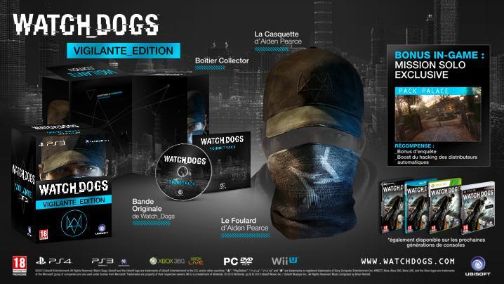 Watch Dogs - Vigilante Edition sur PS4