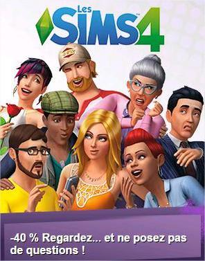 - 40% sur DLC et Les Sims 4 sur PC