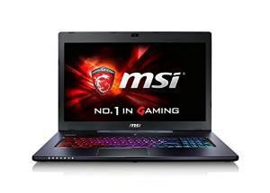 """PC portable 17"""" MSI GS70 2QE-808FR (i7 5700HQ 2.7Ghz, 8 Go RAM, 1 To + 256 Go SSD, GeForce GTX 970M, W10)"""