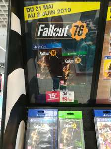 Fallout 76 sur Xbox One et PS4 - Carrefour Ecully (69)