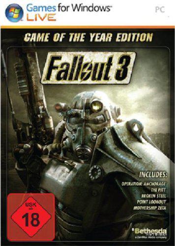 Fallout 3 - Game of the Year Edition  sur PC (Dématérialisé - Steam)