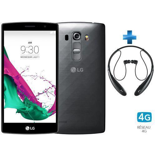 "Smartphone 5.2"" LG G4s Titane + Casque LG Tone Ultra HBS 800"
