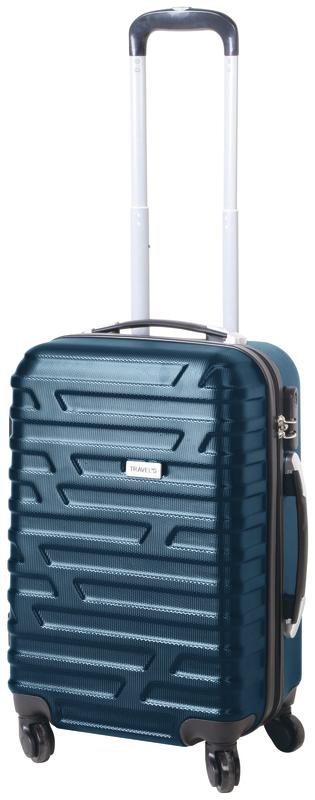 Valise Cabine Rigide Milan Travel's en ABS avec 4 Roues Multidirectionnelles & Poignée Téléscopique (Coloris au choix) - 51 cm