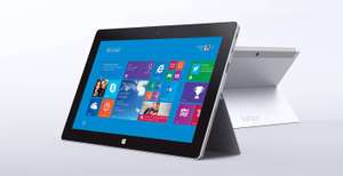 "Tablette 10"" Microsoft Surface 2 - 32 Go Reconditionnée + Clavier Touch Cover"