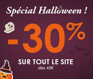 -30% sur tout le site à partir de 45€ d'achat