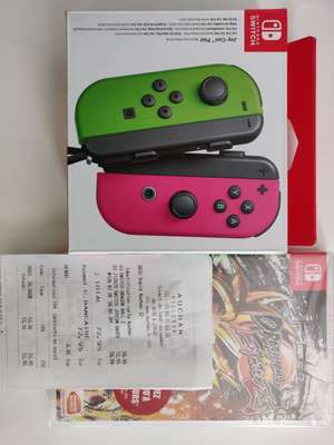 Paire de Joy-Con + Dragon Ball Fighter Z sur Nintendo Switch (Villebon-sur-Yvette 91)