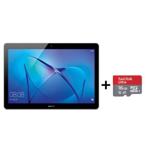 "Tablette 9.6"" Huawei MediaPad T3 10 - HD+, 2 Go de RAM, 16 Go + Carte mémoire MicoSD SanDisk 16 Go"