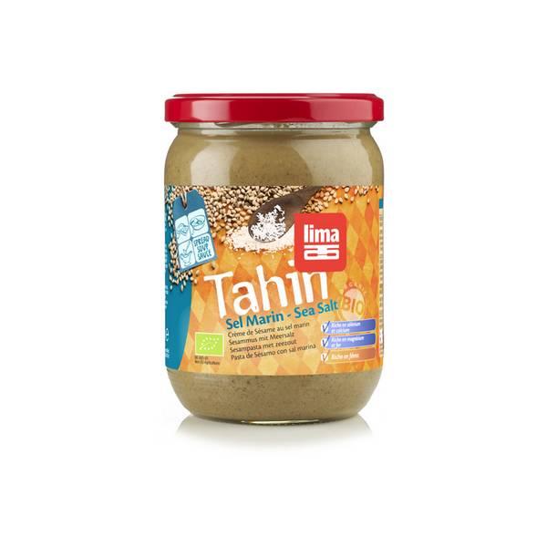 Pot de purée de sésame au sel marin bio Lima Tahin - 500 g (DLUO courte, frais de port inclus)