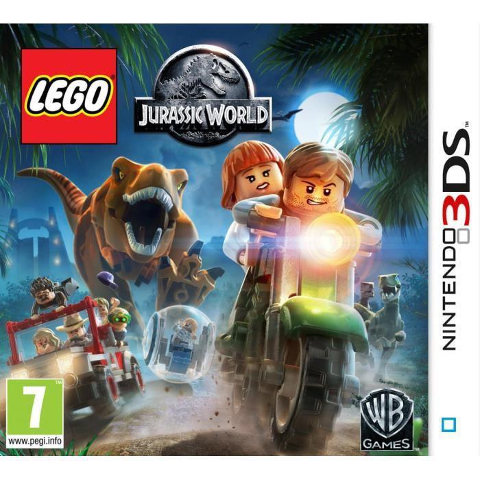 Lego Jurassic World sur Nintendo 3DS