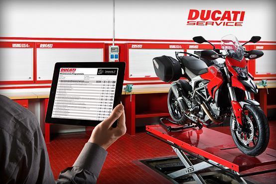 Bilan de santé gratuit de votre moto Ducati + 20% de réduction sur les pièces (et 5% supplémentaires pour les membres du Club Officiel Ducati)